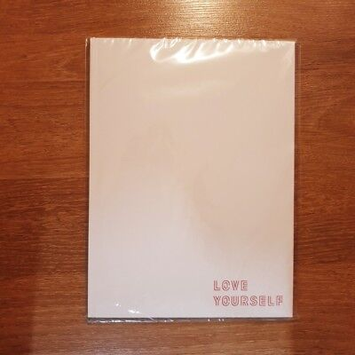 "K-POP BTS World Tour ""LOVE YOURSELF"" OFFICIAL Limited BTS Program Photobook"