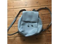 Baby blue backpack / rucksack. Topshop. Brand new with tags