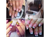 Gel Nail Extensions, Pedicure, Gel Polish Manicure