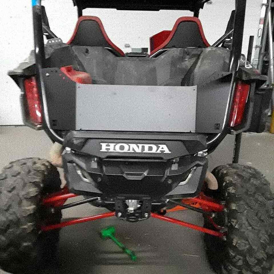aluminum tailgate box extender cargo Honda  Honda 1000R 1000 R 1000x  Talon