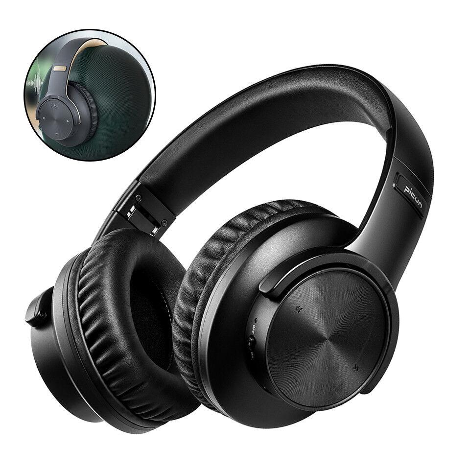 Heavy Bass Bluetooth 5.0 Headphones Wireless Over-ear Headse