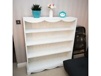 cute restored solid pine shelving unit