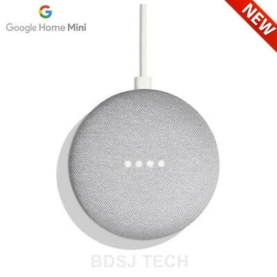 Google Home Mini Powered By Google Assistant Voice Enabled   Us Warranty   Chalk