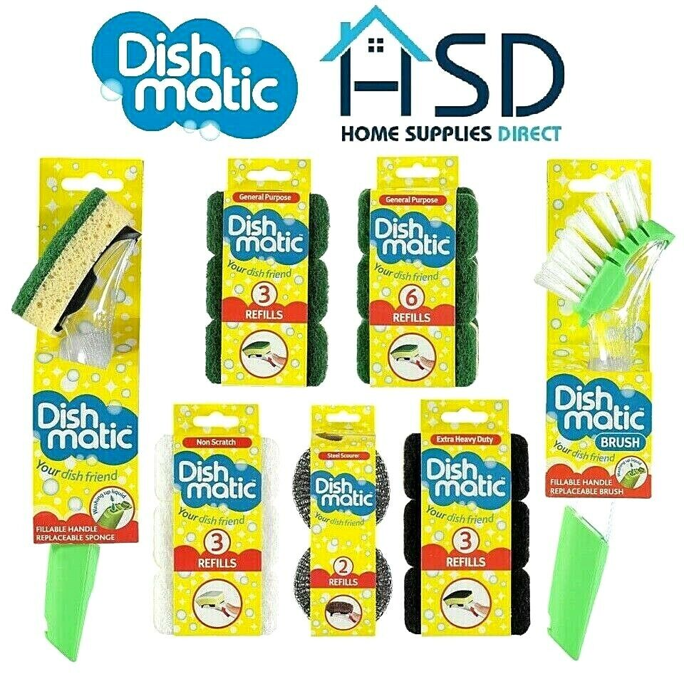 Dishmatic Heavy Duty Refills/3 per pack