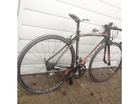 Specialized s works tarmac full Carbon road bike s/m prices to sell bargain