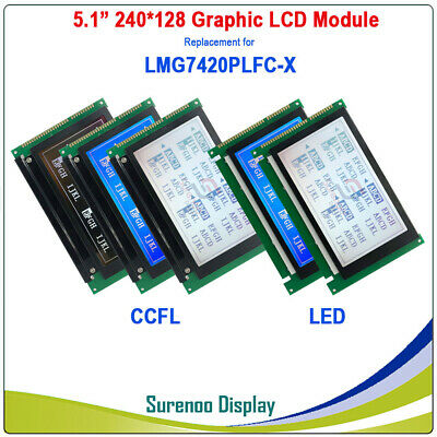 5.1 240128 Graphic Lcd Module Replacement For Hitachi Lmg7420 Lmg7420plfc-x
