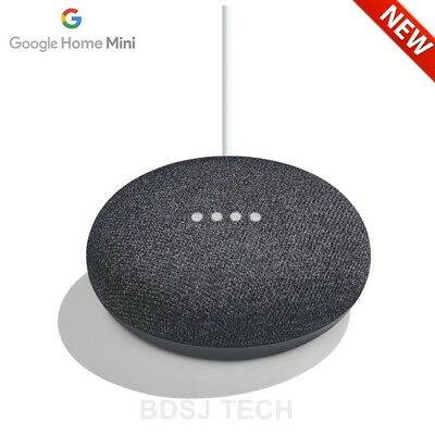 Google Home Mini Powered by Google Assistant Voice Enabled - CHARCOAL