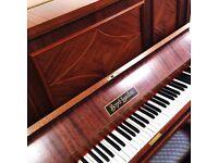 Artcase Sheraton Upright Piano fully restrung THE PIANO PAVILION