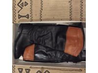 Pure leather classic boots by OFFICE, size 8
