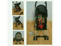 Koochi pushchair pram &raincover