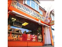 Butterfly Tattoo and Piercing Studio - London Ealing