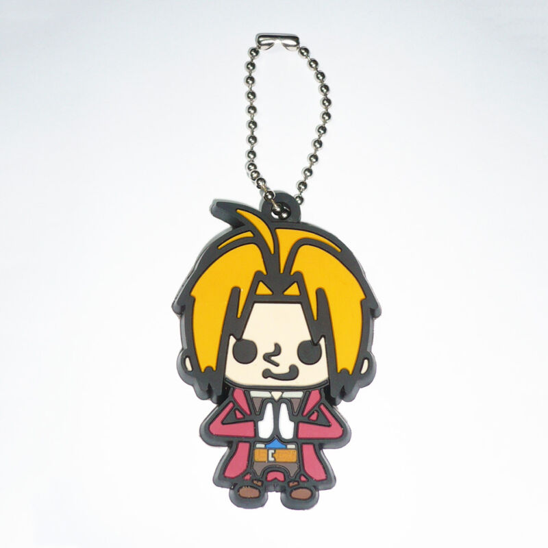 Fullmetal Alchemist Panson Works 2011 Edward Elric Rubber Figure Keychain Holder