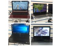 Less than half price Laptops in shop sale