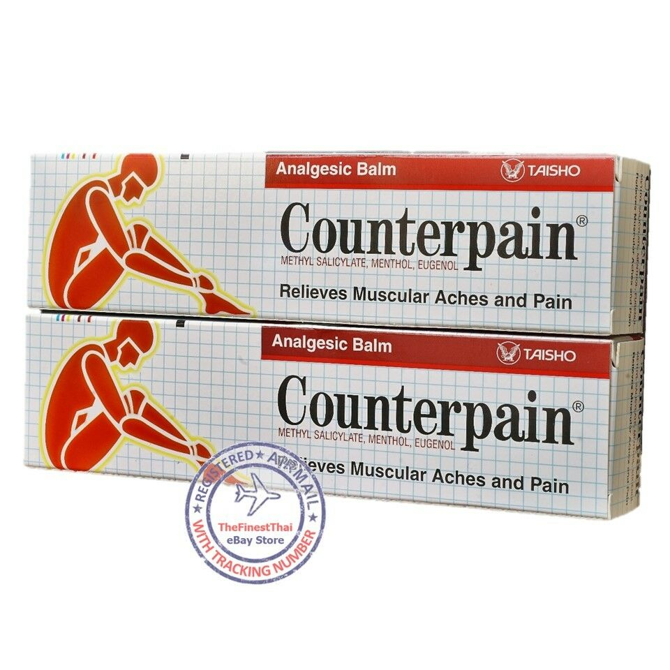 Counterpain Muscular Pain Relief 60g 2 X 120g Warm Hot Analgesic Balm