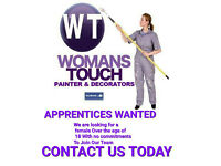 Female Apprentice Painter & Decorater Wanted