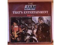 """The Jam - Thats Entertainment - Rare Dutch Holland 7""""Vinyl - Excellent condition"""