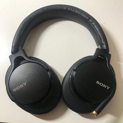 Sony MDR-1AM2 Wired High Res Audio Overhead Headphones - BLACK