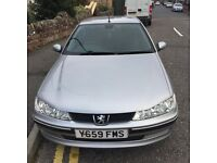 1.9ltr diesel, silver peugeot 406. Runs. MOT till April 2017