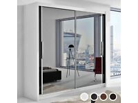 💱BIG DEALS 2 AND 3 DOORS SLIDING WARDROBES WITH FULL MIRRORS, SHELVES, RAILS💱💱