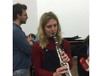 Freelance clarinetist available - classical, pop, and jazz genres
