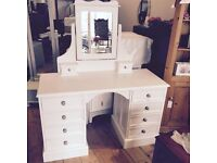 REDUCE PRICE - Lovely Laura Ashley style DRESSING TABLE with Mirror.