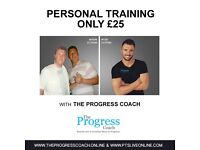 Personal Training £25 - Looking For People Who Want To Lose Weight, 3 Spaces Available