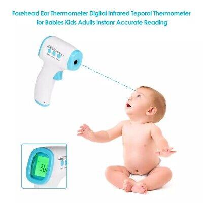 Medical Non Contact Digital Ir Infrared Forehead Fahrenheit Thermometer Gun Us