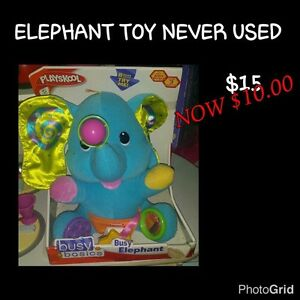 Elephant baby toy Mackay Mackay City Preview