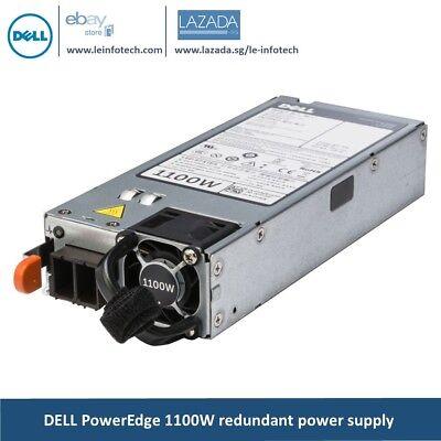 1100W redundant power supply for Dell PowerEdge R720, R720XD, R520, R620, R820