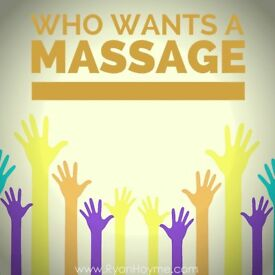 Free massage to females in exchange for English