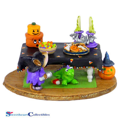 Wee Forest Folk M-302d Halloween Spooky Smorgasbord Limited New 2015](Animation D'halloween)