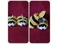 Bumblebee Slippers