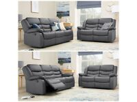 🚞🚞RECLINER LEATHER SOFA - BRAND NEW 3+2, 3+2+1 AND CORNER LEATHER SOFA - EXPRESS DELIVERY 🚞