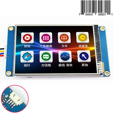 3.5 Hmi Intelligent Smart Usart Serial Tft Lcd Module Display W Touch Panel