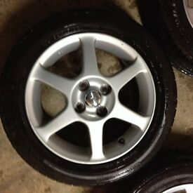 Toyota Yaris T-Sport Alloy Wheels & Tyres (set of 4)