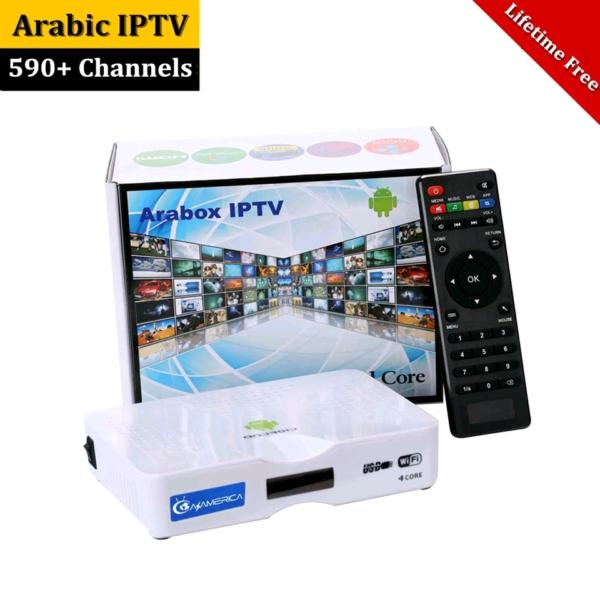 Arabox IPTV Box Android w/Lifetime subscription