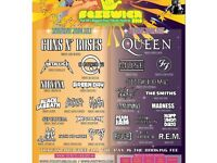 Festwich Festival tickets 28/29 July St Mary's Park Prestwich £3.50