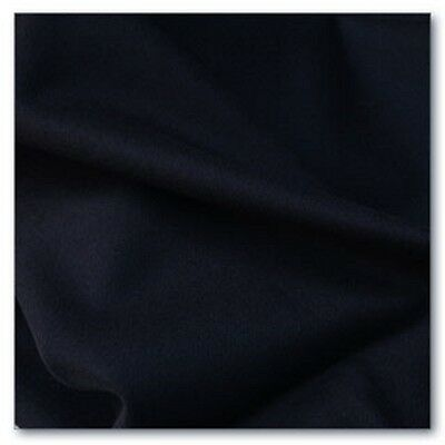 BLACK DORR MILL DYED Wool for Rug Hooking, Applique, 7 x 15""