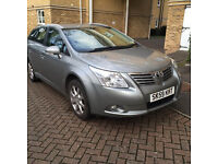 59 plate toyota avensis TR VALEMATIC, 1.8 petrol, 5 DOOR ESTATE, one previous owner, 12 months mot,
