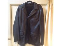 Men's Ben Sherman Leather Jacket. Glasgow, cash and collection only.
