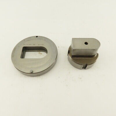 1.190 X 2.250 Actual Rectoval Die Punch Cnc Turret 2.750 Punch Shank Lot Of 2