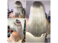 Hair extensions in Essex, Nano ring and micro rings.