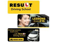 £15 driving lessons , driving school driving instructors