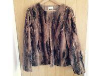fake furr jacket