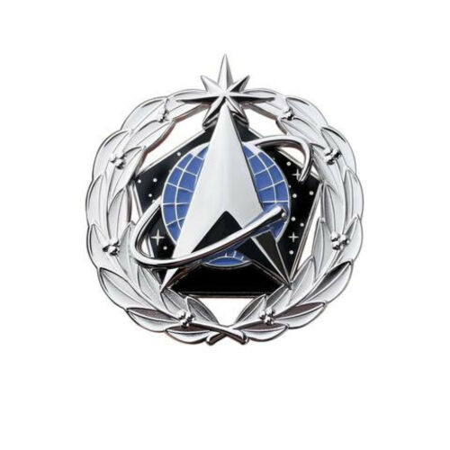 Space Force Identification Badge Space Staff Dress miniature (Made in USA)