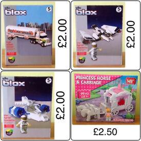 VARIOUS LEGO & COMPATIBLE BUILDING BLOCK SETS