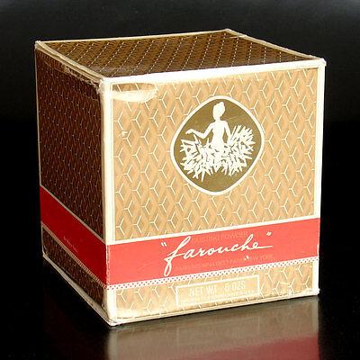 Usa Körperpuder (Farouche Nina Ricci - Vintage - Dusting Powder 6 oz XLNT with BOX France USA)