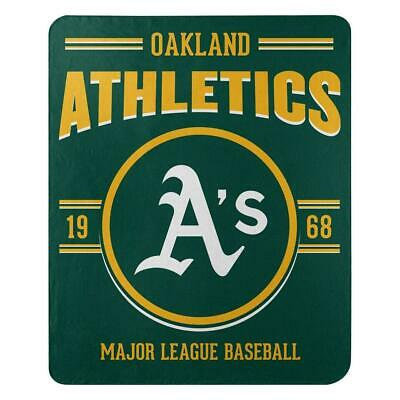 Oakland Athletics 50x60 Fleece Southpaw Design Blanket [NEW] MLB Throw Plush A's Oakland Athletics Design