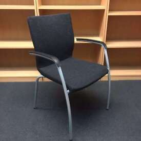 Dark Grey Conference Chair x9