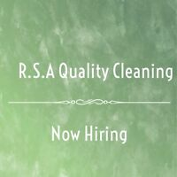 Hiring Full-Time & Part-Time Cleaners.